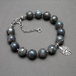 kamienie,minerały,piórko,mystic - Bransoletki - Biżuteria