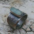 Pierścionki akwamaryn,srebro,srebrny,blękit,retro,delikatny,