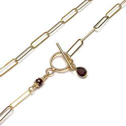 krótki,delikatny - Naszyjniki - Biżuteria