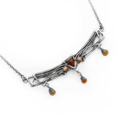 dla mamy,dzień matki,srebrny - Naszyjniki - Biżuteria