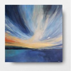 obraz,pejzaż,morze,lodzie - Obrazy - Wyposażenie wnętrz