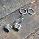 Kolczyki kolczyki wiszące,kolczyki srebrne,na prezent