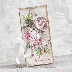 papużki,kartka,tropikalna,ślub,ślubna - Kartki okolicznościowe - Akcesoria