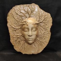 Ceramika,maska,dekoracjw - Ceramika i szkło - Wyposażenie wnętrz