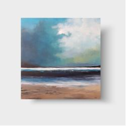 obraz,plaża,pejzaż - Obrazy - Wyposażenie wnętrz