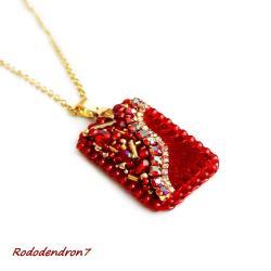 efektowny,nietypowy,delikatny,subtelny, - Naszyjniki - Biżuteria