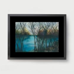 akwarela,krajobraz,malarstwo,sztuka,obraz,wnętrze - Obrazy - Wyposażenie wnętrz