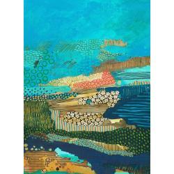 akryl,abstrakcja,malarstwo,sztuka,obraz,wnętrze - Obrazy - Wyposażenie wnętrz