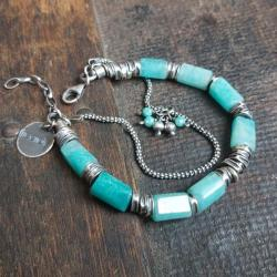 bransoletka srebrna,bransoletka na prezent - Bransoletki - Biżuteria