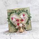 Kartki okolicznościowe urodziny,serce,kartka,życzenia,róże