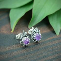 roślinne,romantyczne,eleganckie,kobiece - Kolczyki - Biżuteria