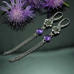 długie,lekkie,romantyczne,unikatowe,na prezent - Kolczyki - Biżuteria
