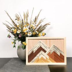 nature,boho,naturalne,natura,drewno,obraz, - Obrazy - Wyposażenie wnętrz
