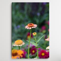 kwiaty do salonu,obraz z kwiatami,magiczny ogrod - Ilustracje, rysunki, fotografia - Wyposażenie wnętrz
