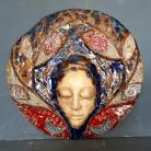 Ceramika i szkło Maska,twarz,dekoracja,ceramika