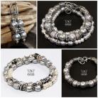 Komplety zestaw biżuterii damskiej,kolczyki,bransolety