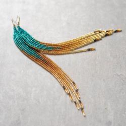 kolczyki na prezent,lekkie kolczyki,morskie - Kolczyki - Biżuteria