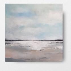 plaża,obraz,kwadrat,płótno - Obrazy - Wyposażenie wnętrz
