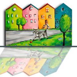 kamienica,prezent dla dziecka,dekoracja pokoju, - Dla dzieci - Akcesoria