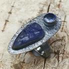 Pierścionki tanzanit,srebrny,blask,fiołkowy,srebro,fiolet,styl
