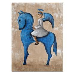 obraz anioł,anioł,anioł na koniu - Obrazy - Wyposażenie wnętrz