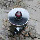 Pierścionki rubin,blask,bordowy,srebrny,surowy,retro,kosmos