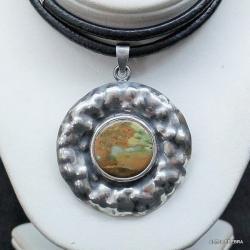 biżuteria,srebro,wisiory,naszyjniki,jaspis - Wisiory - Biżuteria