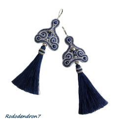 eleganckie,stylowe,efektowne,błyszczące - Kolczyki - Biżuteria