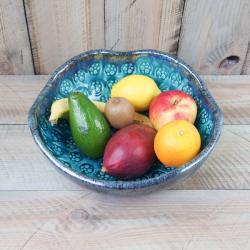 misa,miska ceramiczna,duża misa,na owoce - Ceramika i szkło - Wyposażenie wnętrz