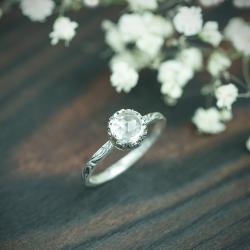 elegancki,kobiecy,kryształ,romantyczn - Pierścionki - Biżuteria