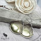 Kolczyki duże kolczyki,prosta forma,elegancka biżuteria