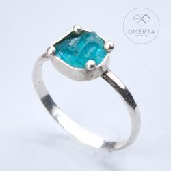 omerta,apatyt,kamień naturalny,minimalizm - Pierścionki - Biżuteria