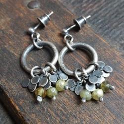 kolczyki na sztyft,kolczyki wiszące - Kolczyki - Biżuteria