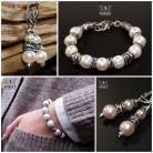 Kolczyki kolczyki z pereł,biżuteria damska z pereł