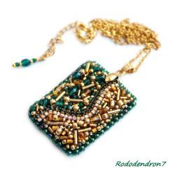 efektowny,nietypowy,delikatny,subtelny,lśniący - Wisiory - Biżuteria