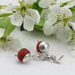 kolczyki z agatami - Kolczyki - Biżuteria