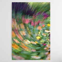 abstrakt,abstrakcja,abstrakcyjne kwiaty,kwiaty - Obrazy - Wyposażenie wnętrz