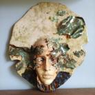 Ceramika i szkło Jesień,maska,dekoracja,prezent,ceramika