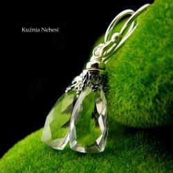 nehesi,kolczyki,srebre,srebra,wire wrapping,górski - Kolczyki - Biżuteria