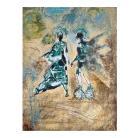 Obrazy obraz abstrakcja,obraz postać,collage,grafika
