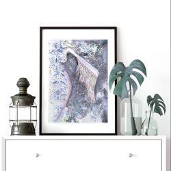 anioł,anioły,skrzydło,skrzydła,obraz,prezent, - Ilustracje, rysunki, fotografia - Wyposażenie wnętrz