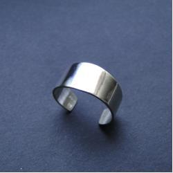 srebro,obrączka,na stopę,delikatna - Pierścionki - Biżuteria