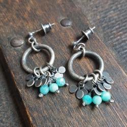 kolczyki na sztyfcie,kolczyki wiszące,na prezent - Kolczyki - Biżuteria