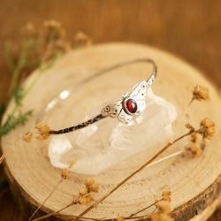 motyl srebrna bransoletka,biżuteria z motylem - Bransoletki - Biżuteria