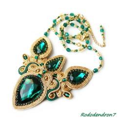 efektowny,nietypowy,elegancki,bogaty,klasyka - Naszyjniki - Biżuteria