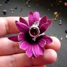Pierścionki srebrny pierścionek z turmalinem,