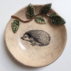 Naczynie,glina,jeż - Ceramika i szkło - Wyposażenie wnętrz