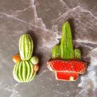 Magnesy na lodówkę kaktus,magnes,magnes ceramiczny,magnes kaktus