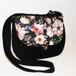 torebka w kwiaty,torebka na wiosnę,listonoszka - Na ramię - Torebki
