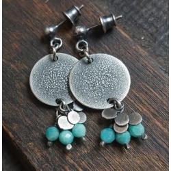 kolczyki wiszące,kolczyki na prezent - Kolczyki - Biżuteria